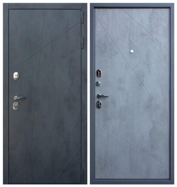 Металлическая дверь 3 контура уплотнения СП157