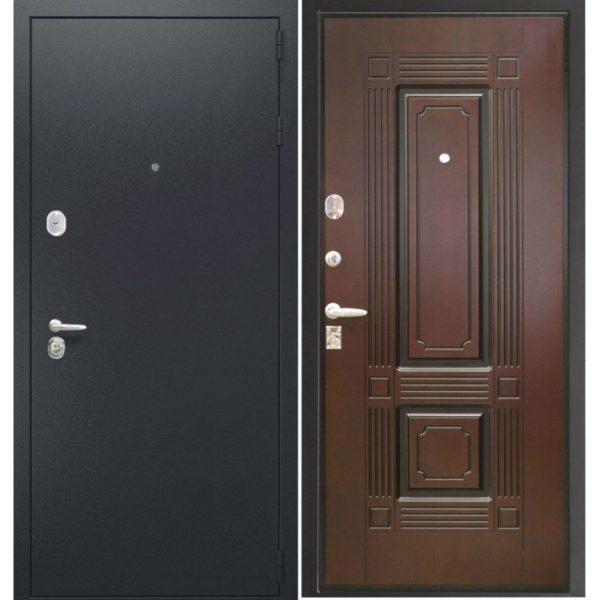 Входная дверь Порошковое напыление + МДФ Шпон ФИЛЕНЧАТЫЙ СП410