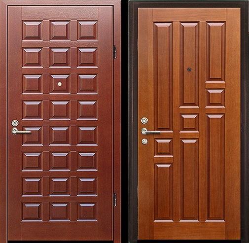 Входная металлическая дверь МДФ (ПВХ) СП045