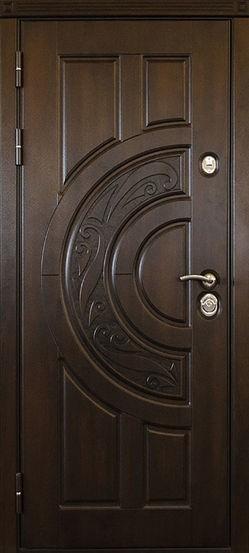 Входная металлическая дверь МДФ винорит СП073