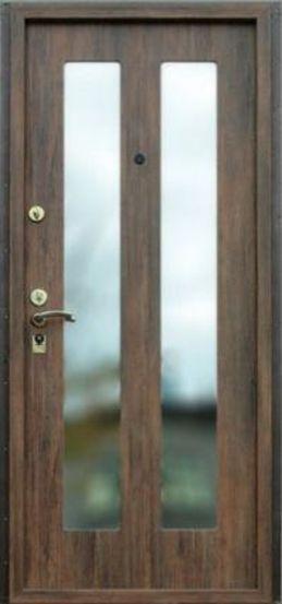 Входная металлическая дверь с зеркалом СП042